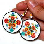 Folk Flowers polish folk art motif ..